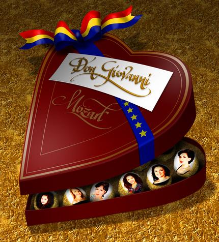 Cutia realizată de florinf - cu bomboane