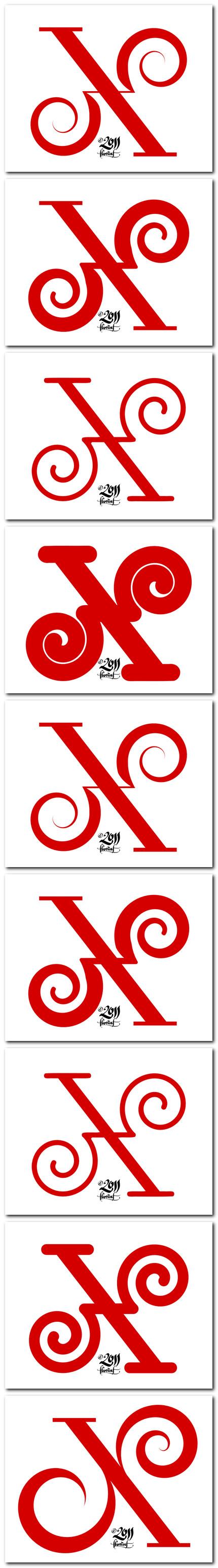 lettercult X de florinf - rosii