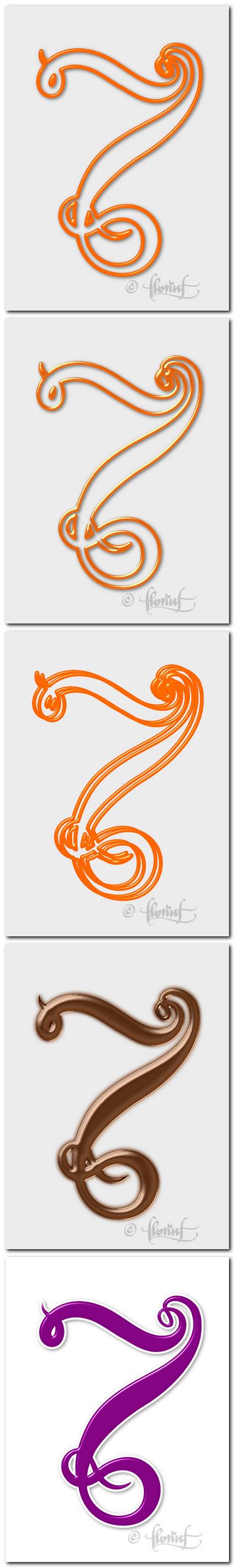 Numarul 7 - variante de Florin Florea 2