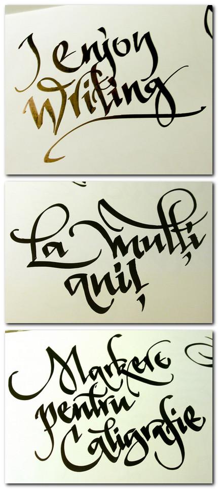 texte caligrafiate de florinf