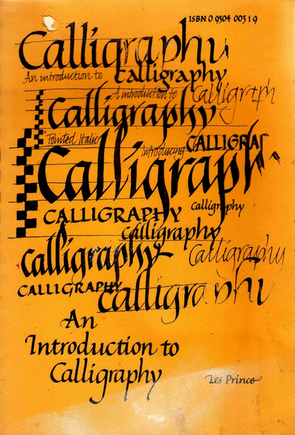 Calligraphy by Lesley Prince