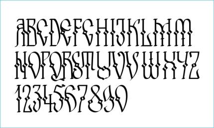 Arhaic Voievozi Script