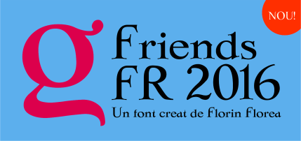Fontul Friends FR 2016