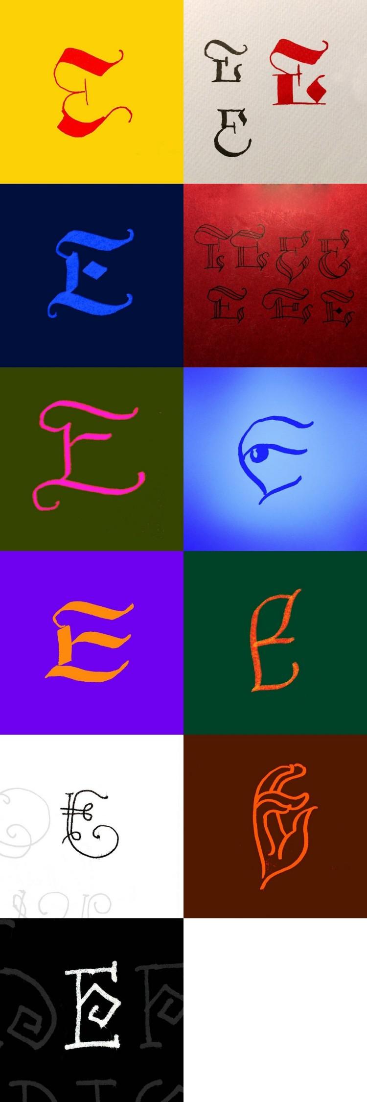 36daysoftype - E - Florin Florea