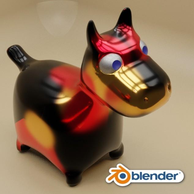Animăluț în Blender