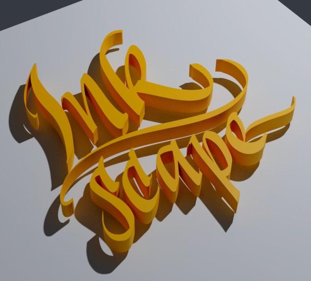 Inkscape 3D